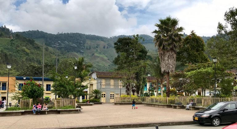 Pijao, Quindio province - Colombia coffee region