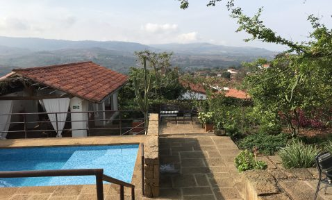 View of Barichara, Colombia from Casa Barichara